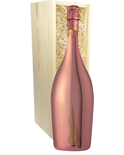 Rose Gold Prosecco Magnum