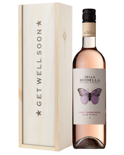 Rose Wine Get Well Soon Gift