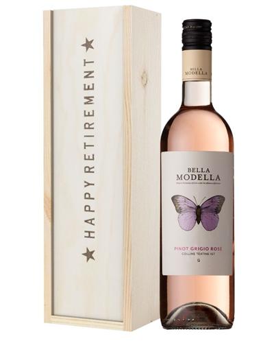 Rose Wine Retirement Gift