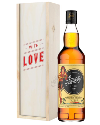 Sailor Jerry Rum Valentines Day Gift