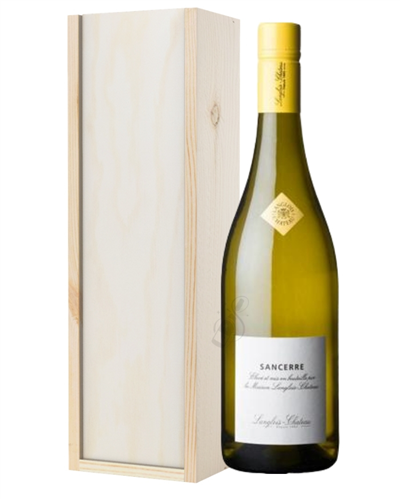Sancerre White Wine Gift in Wooden Box