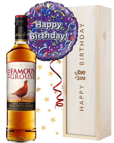 Scotch Whisky and Birthday Balloon