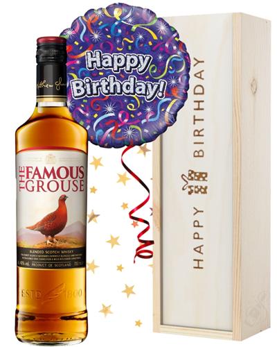 Scotch Whisky and Birthday Balloon