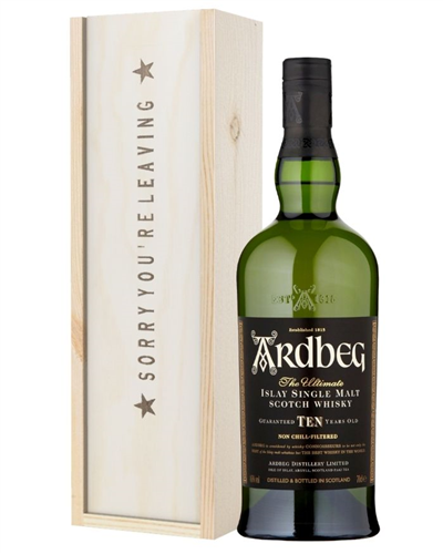 Islay Whisky Sorry You Are Leaving Gift