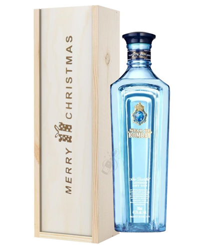 Star Of Bombay Gin Christmas Gift In Wooden Box