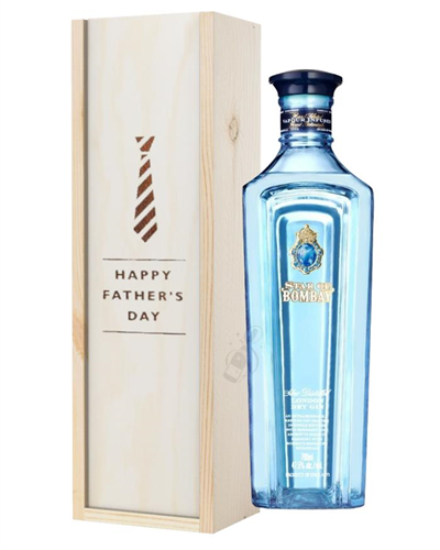 Star Of Bombay Gin Fathers Day Gift In Wooden Box
