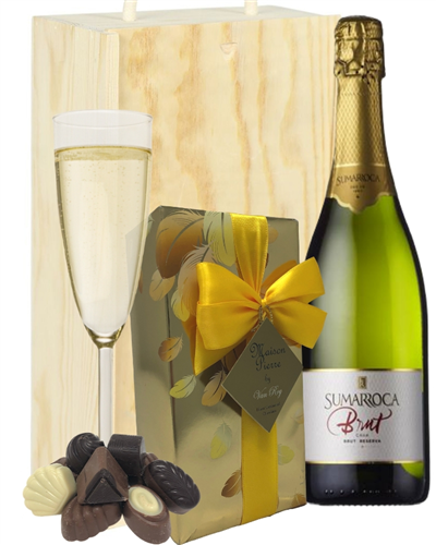 Sumarroca Cava And Belgian Chocolates