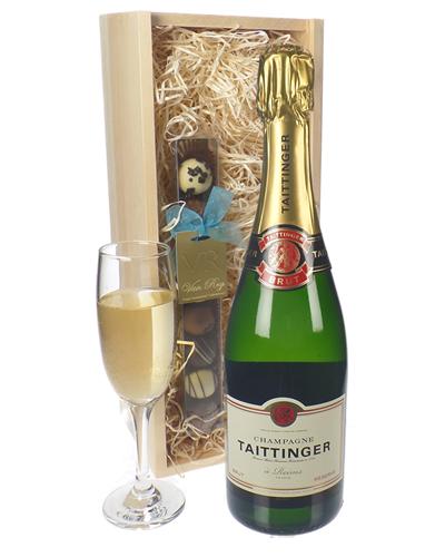 Taittinger Champagne and Chocolates Gift Set