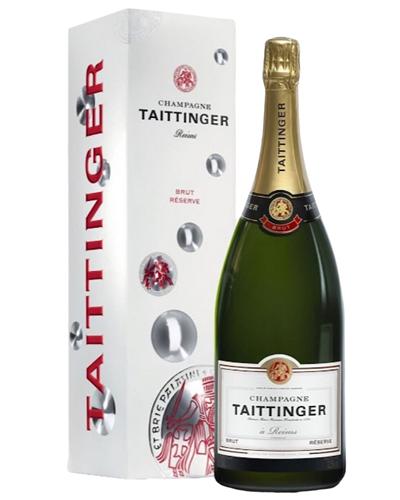Taittinger Champagne Magnum 150cl Gift Box