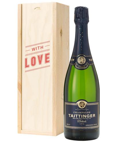 Taittinger Prelude Champagne Valentines Day Gift