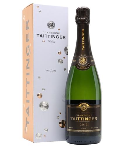 Taittinger Vintage Champagne Gift Box