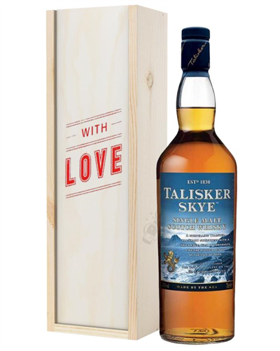 Talisker Skye Single Malt Whisky Valentines Day Gift