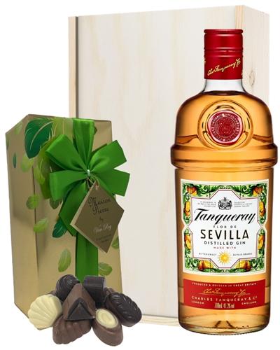 Tanqueray Flor De Sevilla Gin And Chocolates Gift Set