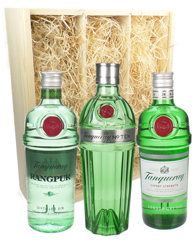 Tanqueray Gin Triple Gift Set