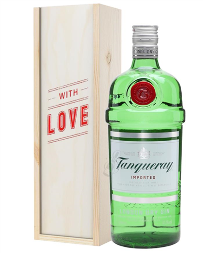 Tanqueray Gin Valentines Day Gift