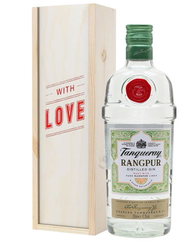 Tanqueray Rangpur Gin Valentines Day Gift
