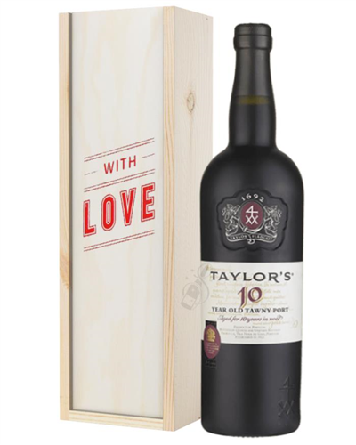Taylors 10 Year Old Port Valentines Day Gift