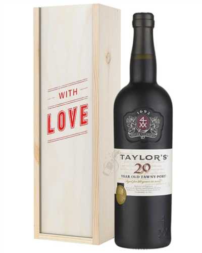 Taylors 20 Year Old Port Valentines Day Gift