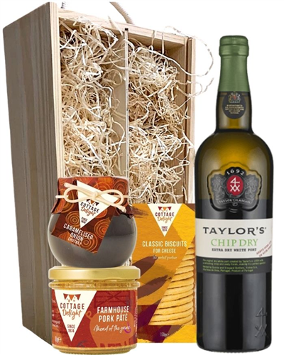 Taylors Chip Dry White Port and Pate