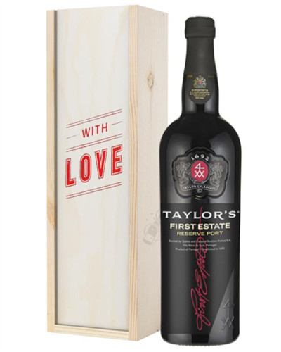 Taylors First Reserve Port Valentines Day Gift