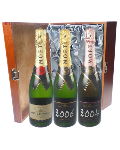 The Moet Champagne Collection Luxury Gift
