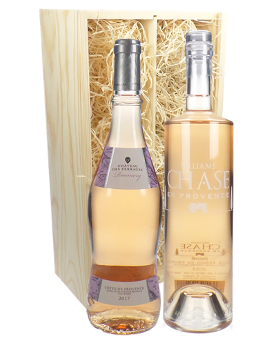 Two Bottle Provence Rose Wine Gift