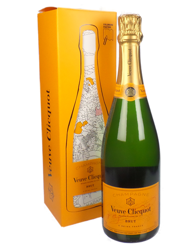 Veuve Clicquot Artist Colouring Pack