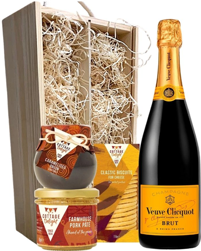 Veuve Clicquot Champagne & Gourmet Food Gift Box