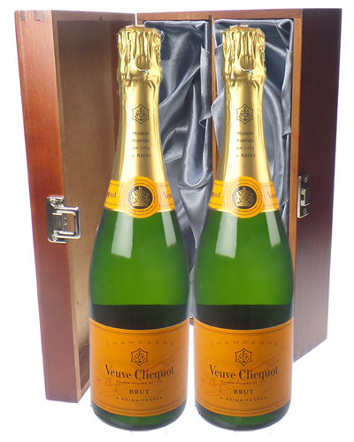 Veuve Clicquot Champagne Twin Luxury Gift