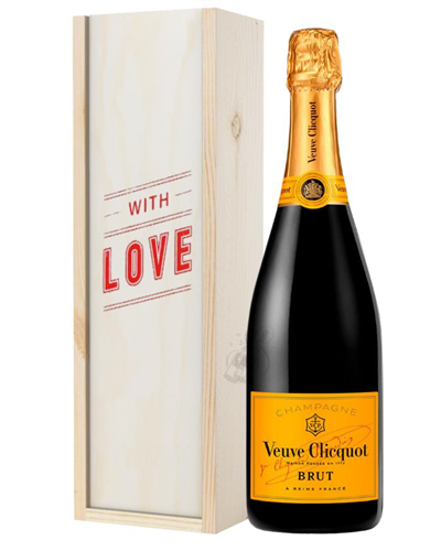 Veuve Clicquot Champagne Valentines Day Gift