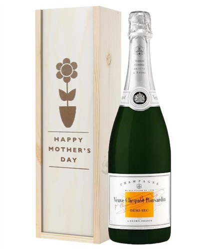 Veuve Clicquot Demi Sec Champagne Mothers Day Gift
