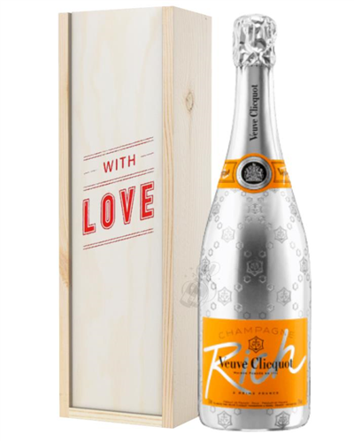 Veuve Clicquot Rich Champagne Valentines Day Gift