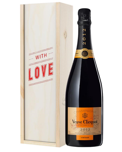 Veuve Clicquot Vintage Champagne Valentines Day Gift