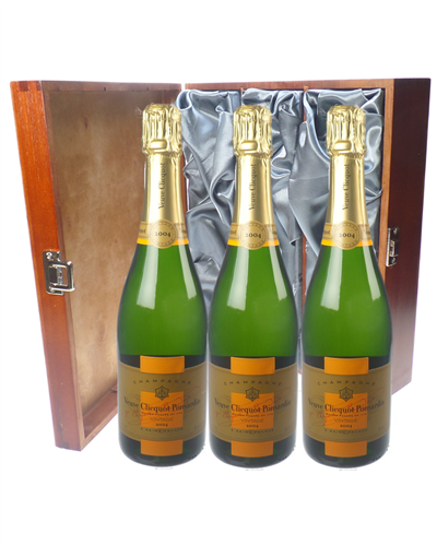 Veuve Vintage Champagne Triple Luxury Gift