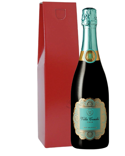Villa Conchi Cava Sparkling Wine Gift Box