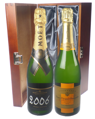 Vintage Champagne Twin Luxury Gift
