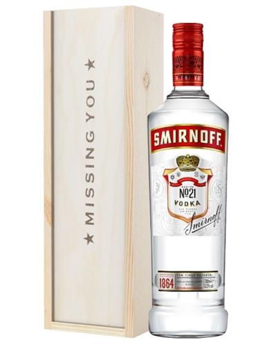 Vodka Missing You Gift