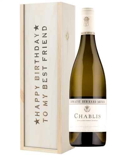 White Wine Birthday Gift For Best Friend