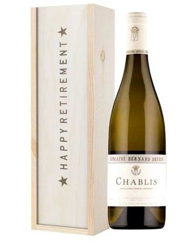 White Wine Retirement Gift