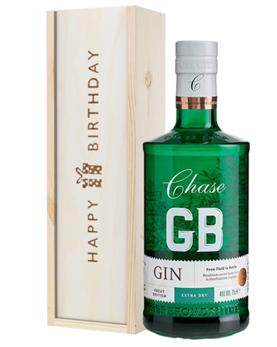 Williams GB Extra Dry Gin Birthday Gift In Wooden Box