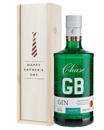 Williams GB Extra Dry Gin Fathers Day Gift In Wooden Box