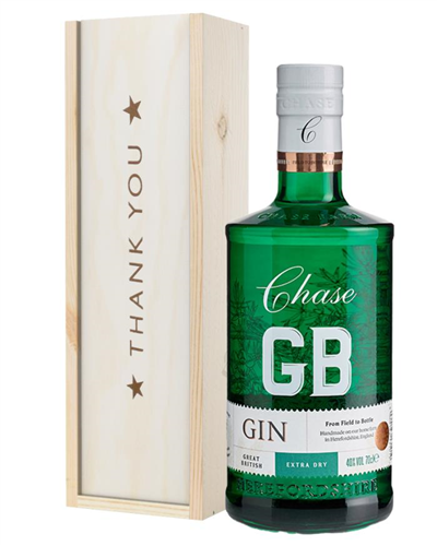 Williams GB Extra Dry Gin Thank You Gift In Wooden Box