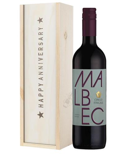 Wine Anniversary Gift