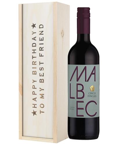 Wine Birthday Gift For Best Friend