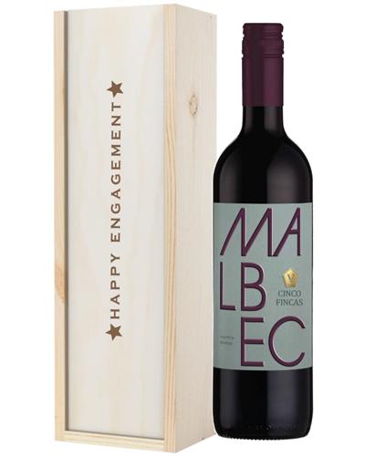 Wine Engagement Gift