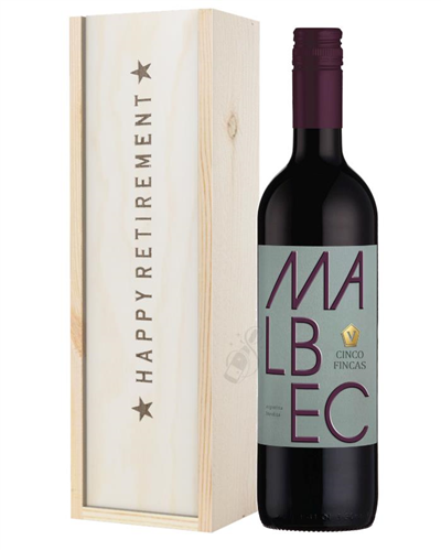 Wine Retirement Gift