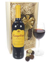 Campo Viejo Crianza and Luxury Chocolate Gift