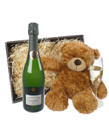 Bollinger Grande Annee Champagne and Teddy Bear