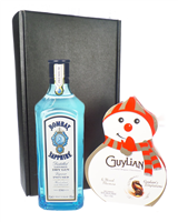 Gin And Christmas Chocolates Gift Set