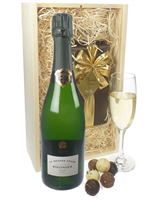 Bollinger Vintage Champagne and Belgian Chocolates